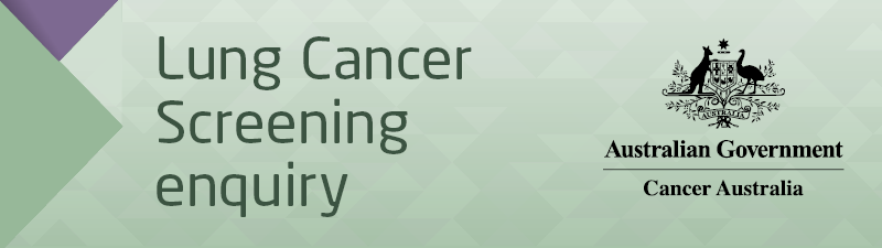 Lung Cancer Screening Enquiry