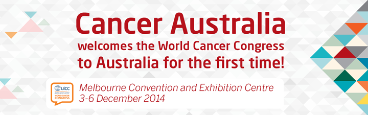 Cancer Australia welcomes the World Cancer Congress to Australia for the first time!
