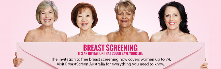 Breast Screening. It's an invitation that could save your life.