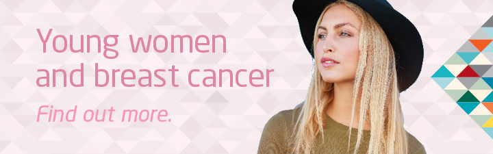 Young women and breast cancer - find out more.