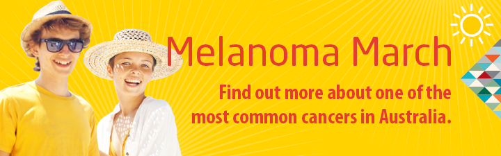 Melanoma March - find out more.