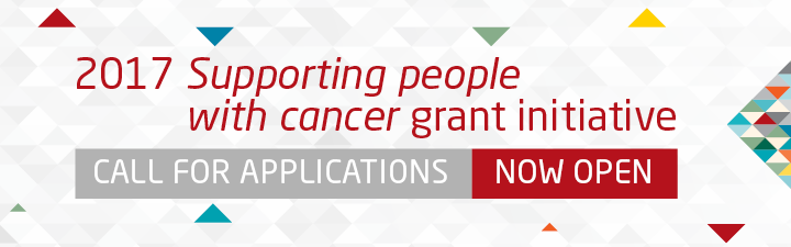 2017 Supporting people with cancer grant initiative call for applications now open