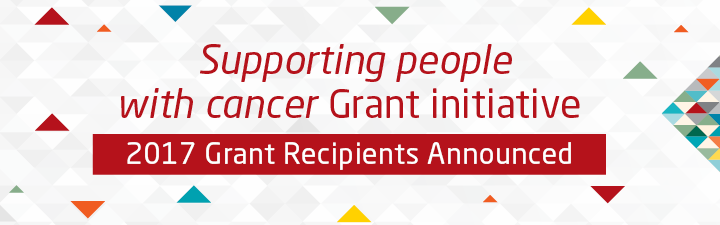 Supporting people with cancer Grant initiative