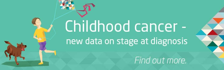 Childhood cancer - new data on stage at diagnosis