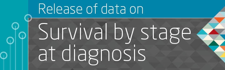 Release of data on survival by stage at diagnosis