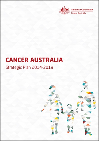 Cancer Australia Strategic Plan 2014-19 front cover